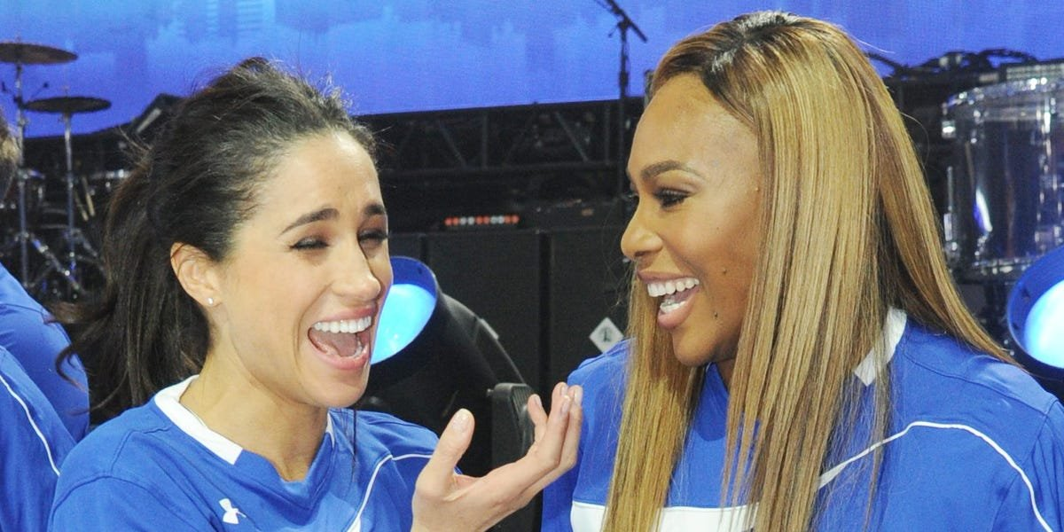 Serena Williams called Meghan Markle 'truly noble' after her tell-all interview — see inside their 7-year friendship