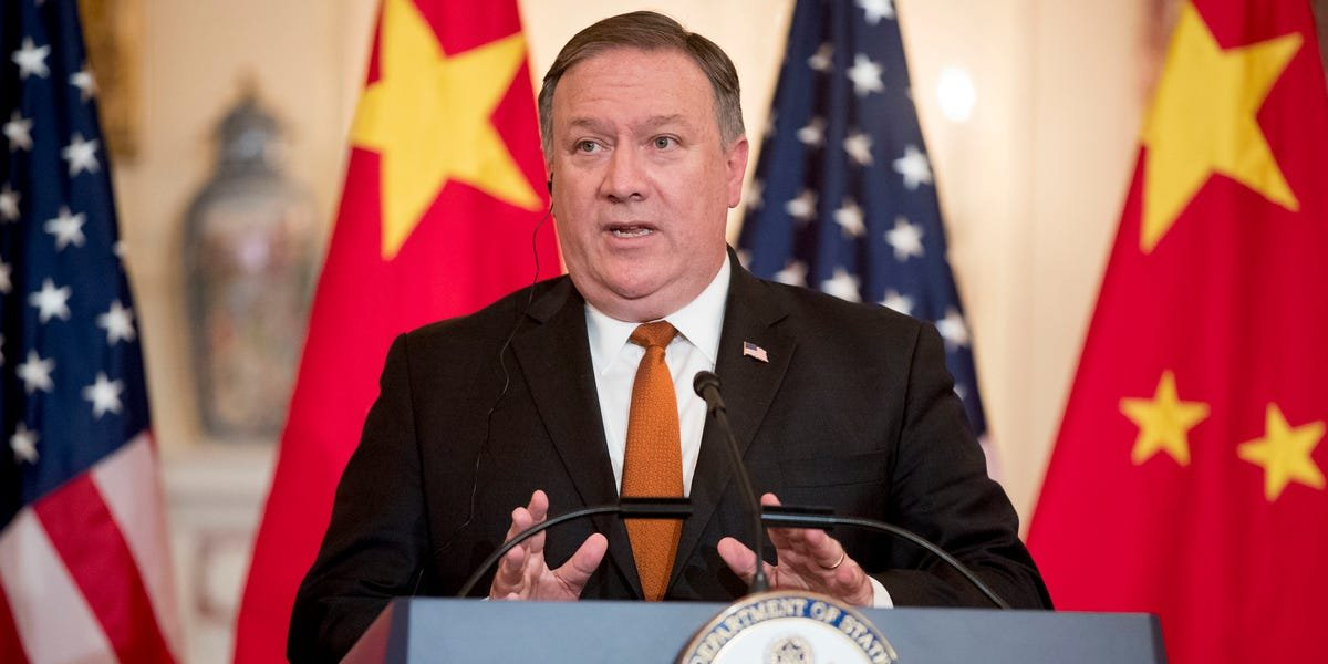 Pompeo tells Fox News the US is 'certainly looking into' banning TikTok over privacy concerns