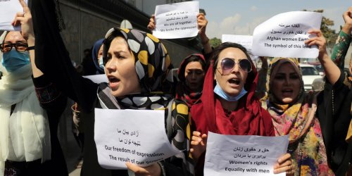 The Taliban has replaced the Afghan women's ministry with its own ministry of virtue and vice