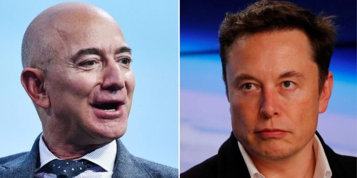 Jeff Bezos is heading to space, and he's doing it before his main rival, Elon Musk. It's the latest development in a 15-year feud between 2 of the world's most powerful CEOs.