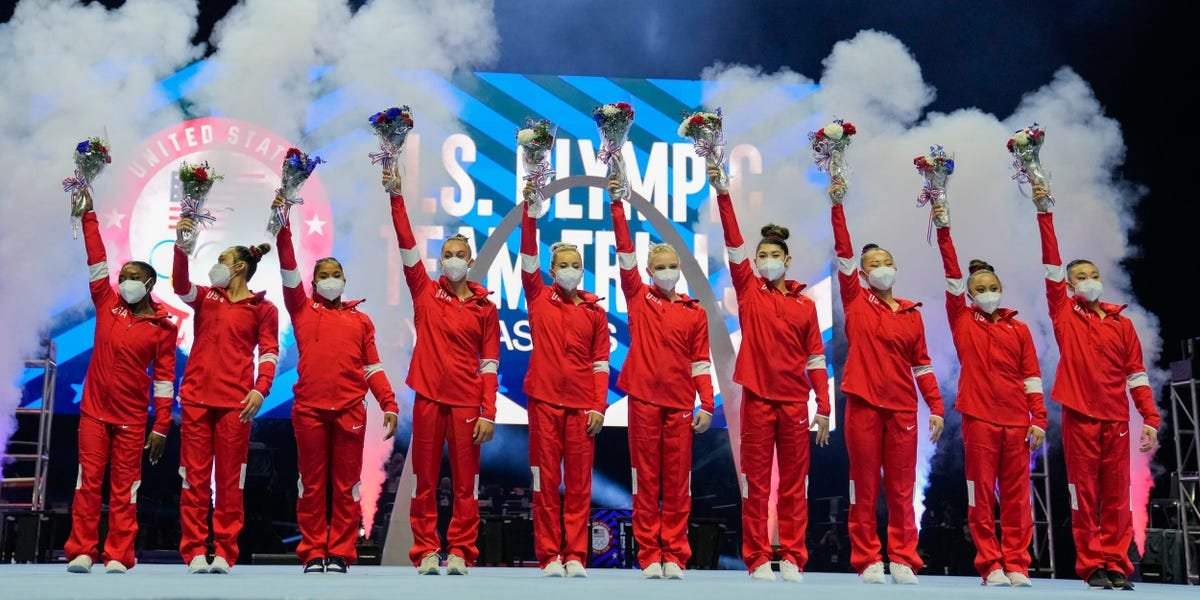An alternate on the US women's gymnastics team has tested positive for COVID-19