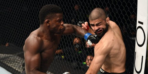 An American middleweight stunned everyone on Fight Island with an 18-second knockout on his UFC debut