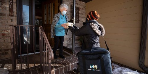 COVID-19 left millions of seniors hungry and isolated. Here's how Meals on Wheels became their lifeline.