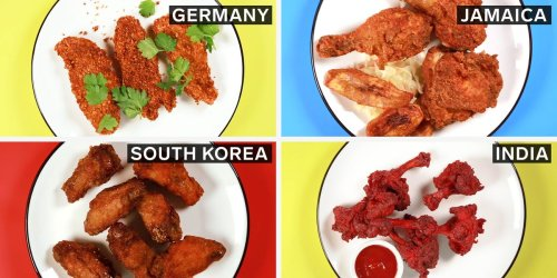 Here's how fried chicken is eaten around the world