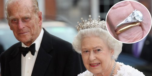 Prince Philip designed Queen Elizabeth's engagement ring with diamonds from his mother's tiara