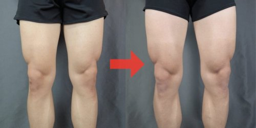 A YouTuber did 300 squats a day for 30 days, and by the end his quads were an inch bigger