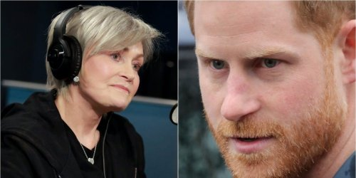 Sharon Osbourne blasts Prince Harry and calls him the 'poster boy' of white privilege during Bill Maher interview