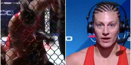 One of MMA's most dominant women challenged YouTubers and boxers to step into the cage after her latest win