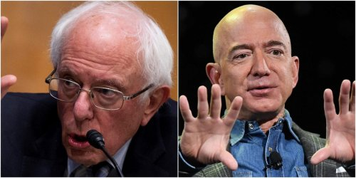 Bernie Sanders will travel to Alabama to meet with Amazon workers pushing to unionize amid his battle with Jeff Bezos