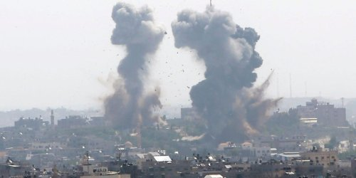 Israeli airstrikes killed 26 people in Gaza as rocket attacks left 2 dead in Israel. Tensions have been rising over violent clashes in Jerusalem.