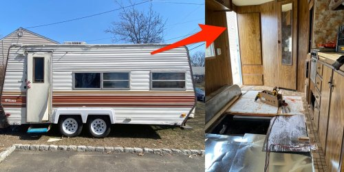 I'm 24 and renovating my first RV. Here are the 7 most unglamorous parts you won't see on Instagram.