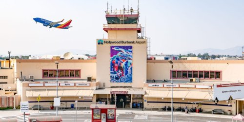 Fierce competition between America's top airlines is fueling explosive growth for a small airport in California