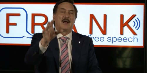 I watched eight hours of Mike Lindell's 48-hour Frank-A-Thon. Here are the highlights.