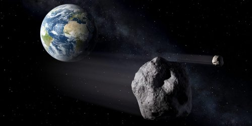 An Eiffel Tower-sized asteroid is about to whiz by Earth. When it returns in 8 years, it could cross paths with our satellites.