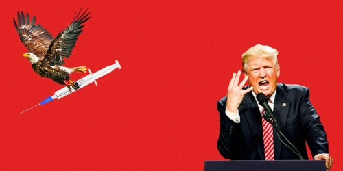 Trump is desperate to get credit for the COVID-19 vaccines, but his political heartlands are reluctant to actually take them