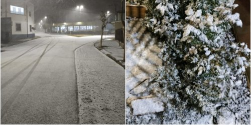 People in Brazil can't believe their eyes as freak snow blankets 40 cities