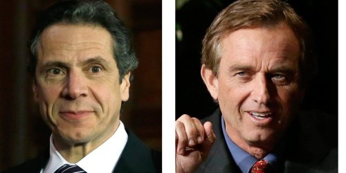New York is about to spew a lot more carbon into the air, thanks to Andrew Cuomo and anti-vaccine activist Robert F. Kennedy, Jr.'s anti-nuclear crusade