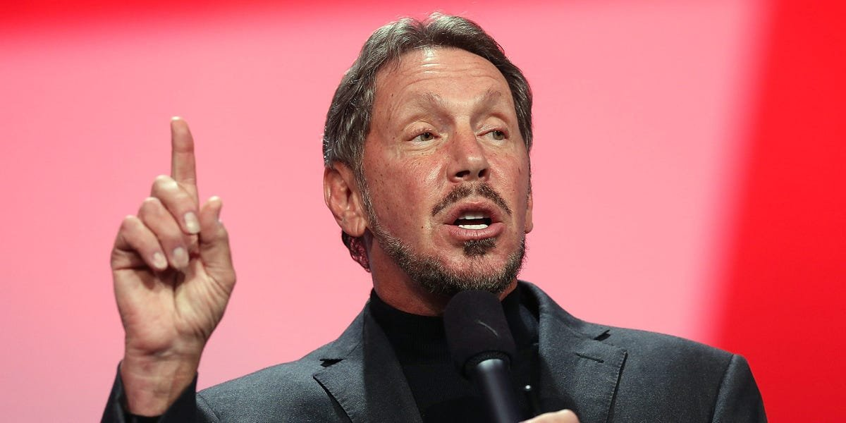 Oracle billionaire Larry Ellison is tearing down his new $80 million Palm Beach mansion and says he has no plans to leave Hawaii