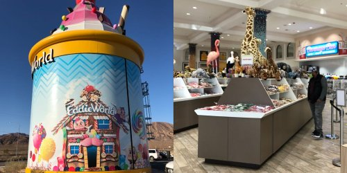 Inside the 'Disneyland of gas stations,' a 27,000-square-foot, candy-filled roadside attraction in California