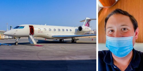 I flew on a $65 million Gulfstream G650ER private jet and saw why it's a favorite of tech billionaires like Elon Musk and Jeff Bezos