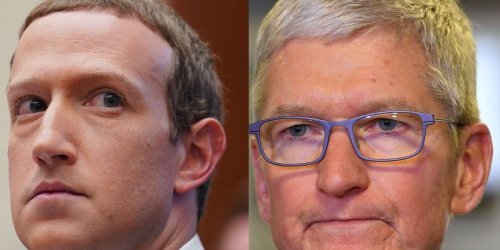 Apple CEO Tim Cook appears to take jab at Facebook saying App Store would be better with 'more social networks'