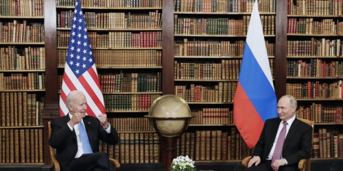 Putin savored the global spotlight after his direct but largely fruitless meeting with Biden