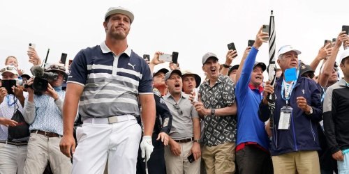 Bryson DeChambeau's US Open fell apart at an eventful hole that featured a streaker, a 12-pack of beer, and a slip out of the tee box