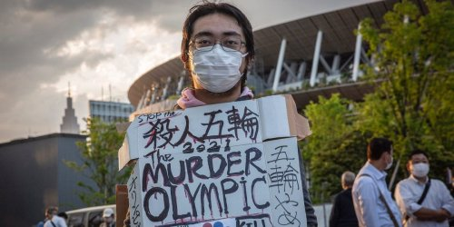 In Japan, where less than 1% of the population is fully vaccinated, protests to cancel or postpone Olympics intensify