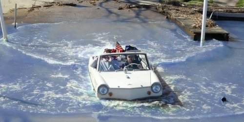 The Amphicar 770 is a classic that masters land and sea