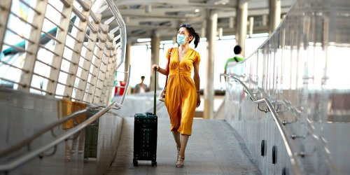 You don't need to quarantine after traveling if you're vaccinated, health experts say, but you should still take precautions