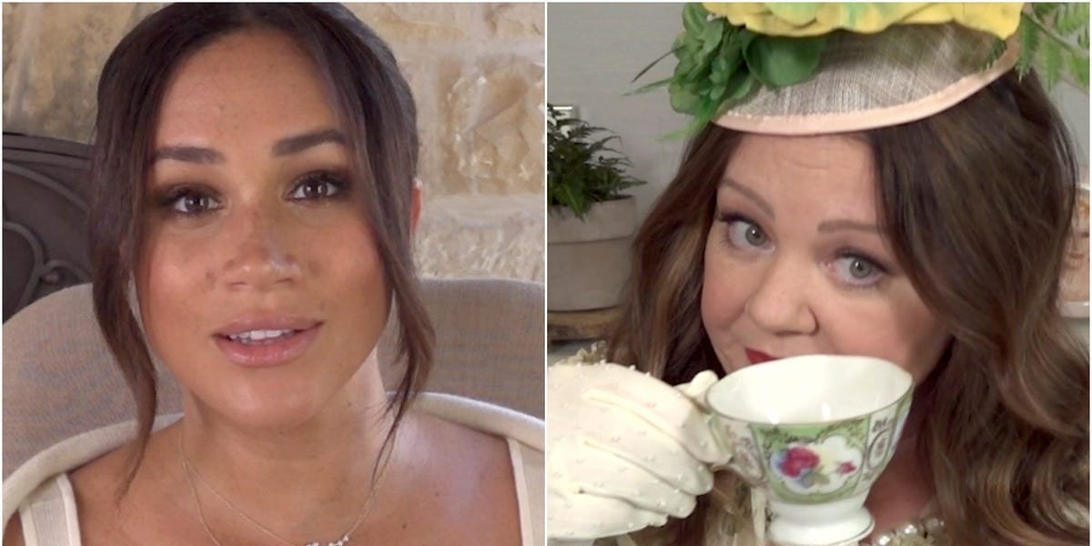 Meghan Markle gifts fans with a video to promote a women's mentorship project on her 40th birthday, and it shows her acting with 'best friend' Melissa McCarthy