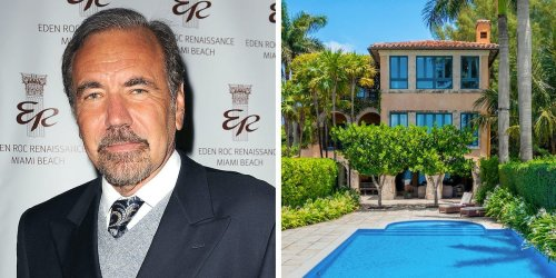 Miami's billionaire 'Condo King' is selling his waterfront mansion in a gated Florida community for $33 million. Take a look inside.