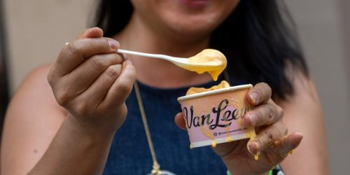 People are actually loving Kraft's mac-and-cheese ice cream — the website to order $12 pints crashed and the flavor sold out