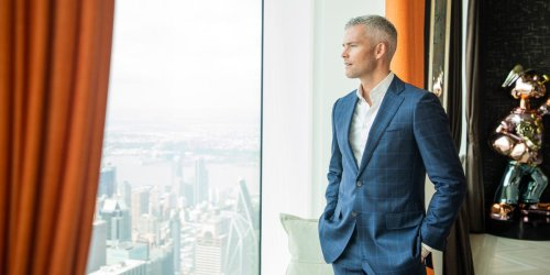 Ryan Serhant gave me a private tour of the most expensive home for sale in America