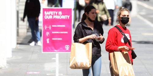 Clothing sales are spiking even higher than 2019 levels — in part because roughly a quarter of consumers are a new size post-quarantine