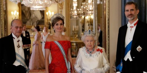 Spain's monarchs wrote a letter to the Queen after Prince Philip's death that nods to a little-known connection between the families