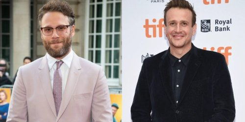 Seth Rogen says he and Jason Segel left their '8 Mile' audition in tears after making each other laugh