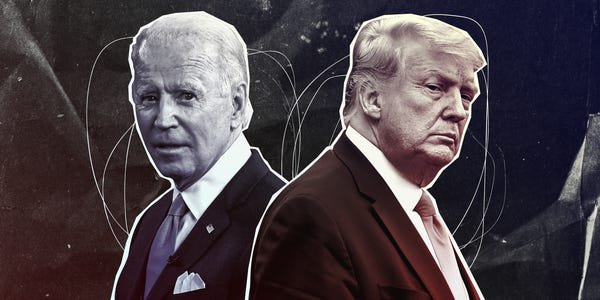 Here's a complete accounting of all 34 credible sexual-misconduct allegations against Joe Biden and Donald Trump