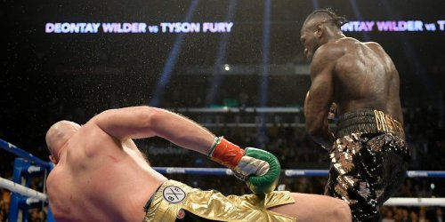 America's thunderous puncher Deontay Wilder could knock Tyson Fury out next month, Anthony Joshua says