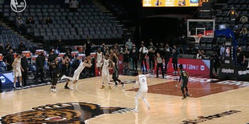 Luka Doncic hit a buzzer-beater so wild even LeBron couldn't believe it