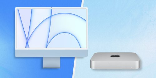 Apple's new iMac is slim and colorful, but the humble Mac Mini is a better Apple desktop for half the price
