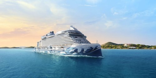 Norwegian has unveiled a new cruise ship complete with a food hall, Starbucks, and its largest staterooms ever — see inside