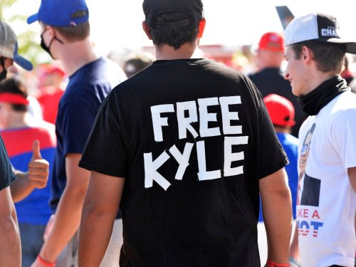 Trump defended Kyle Rittenhouse, a 17-year-old supporter of his charged with killing 2 people in Kenosha