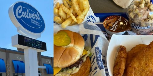 I ate at Culver's, a Midwestern fast-food chain, for the first time and it was the best burger I've ever had