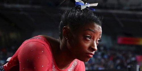 Simone Biles says her Olympic return is driven by a desire to use her voice to spotlight historic abuse in gymnastics