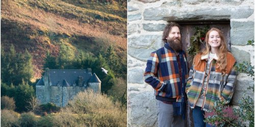 A couple transformed a run-down $460,000 Scottish castle into a luxury hotel after quitting their jobs in Dubai