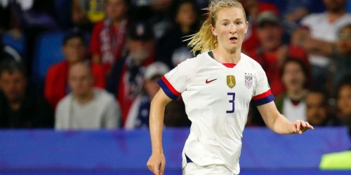 The world's top-ranked women's soccer star hinted at a return to the US after playing nearly a year overseas
