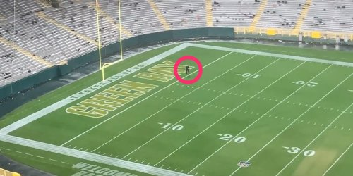 A Packers trainer searched Lambeau Field until 2 am to recover a player's necklace that contained his father's ashes