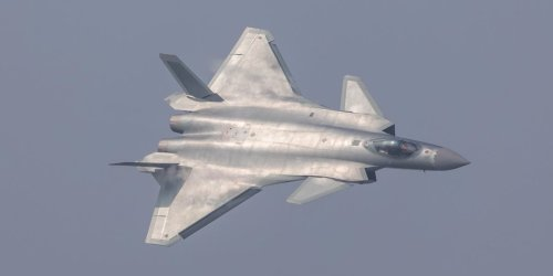 China's J-20 stealth fighter jet could get engines that put it 'on a par' with the F-22 in next 2 years
