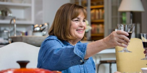 Ina Garten is cooking ribs in a full bottle of red wine to help manage her Election Day stress